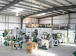 Cone Processing Plant at IFA Nurseries located in Oregon and Washington.